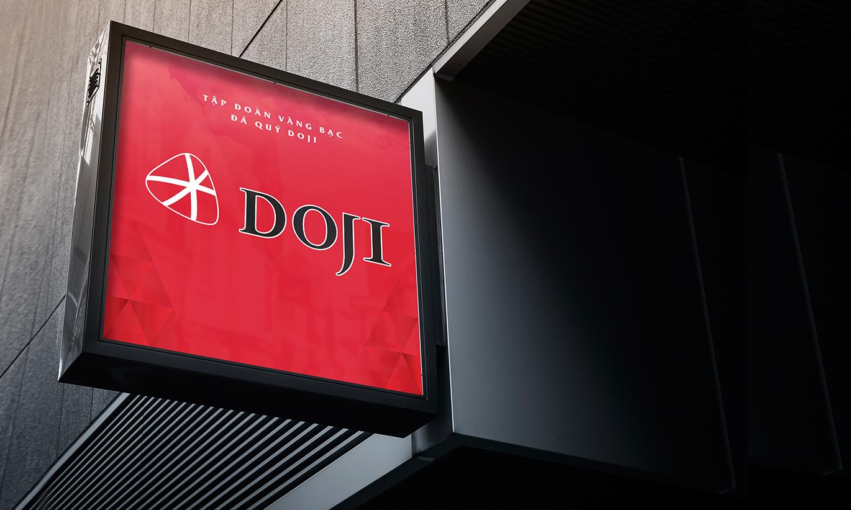 bộ nhận diện thương hiệu Doji 4