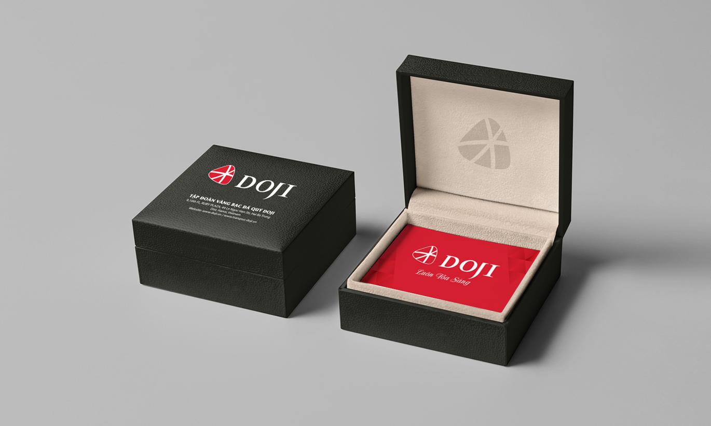 bộ nhận diện thương hiệu Doji 6
