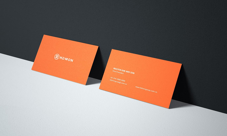 thiết kế card visit HDMon