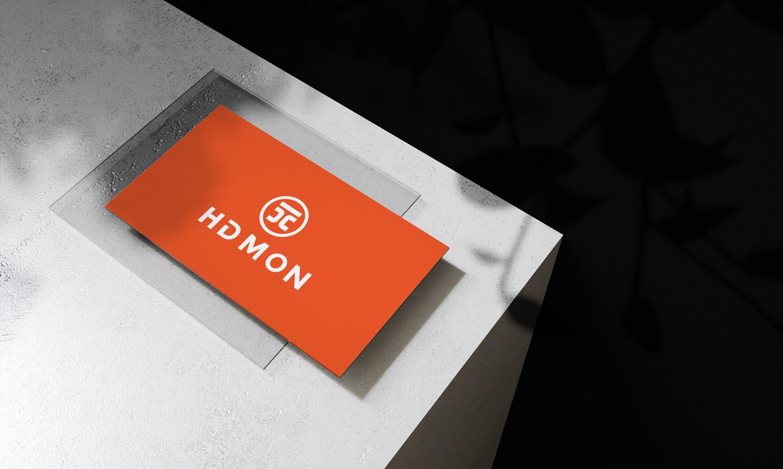 thiết kế card visit HDMon 2