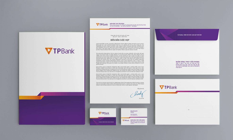tiêu đề thư name card TPBank