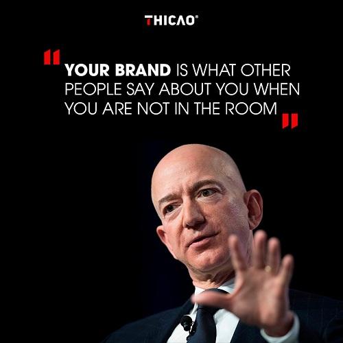 định nghĩa về thương hiệu của Jeff Bezos