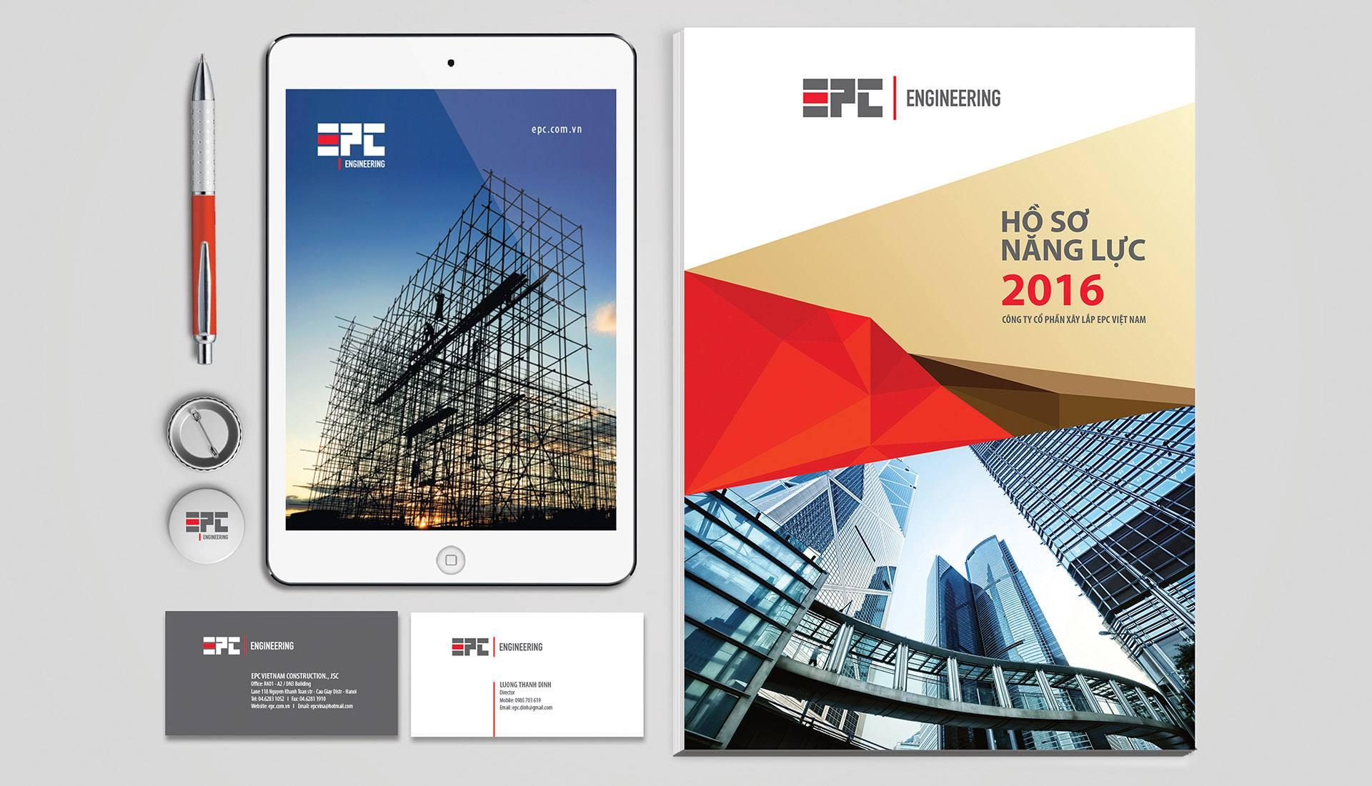 dự án nhận diện thương hiệu EPC