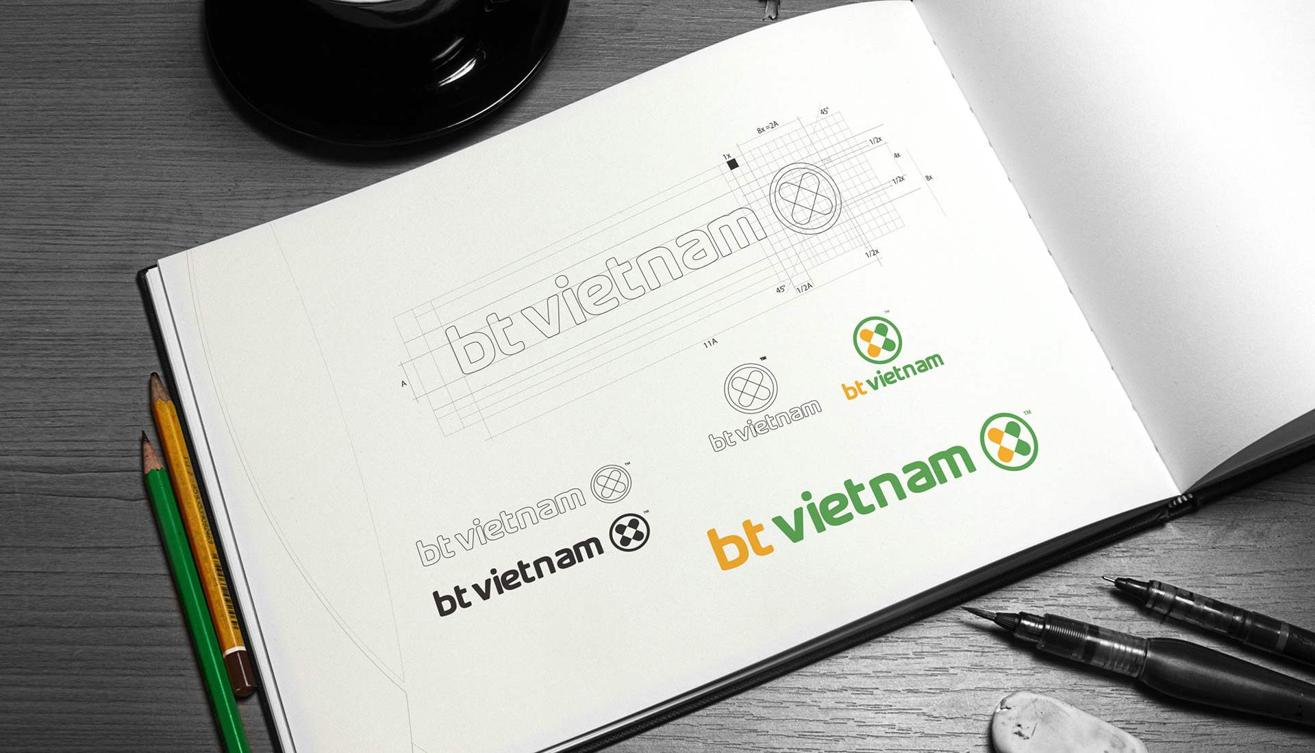 Dự án thiết kế thương hiệu BT Việt Nam