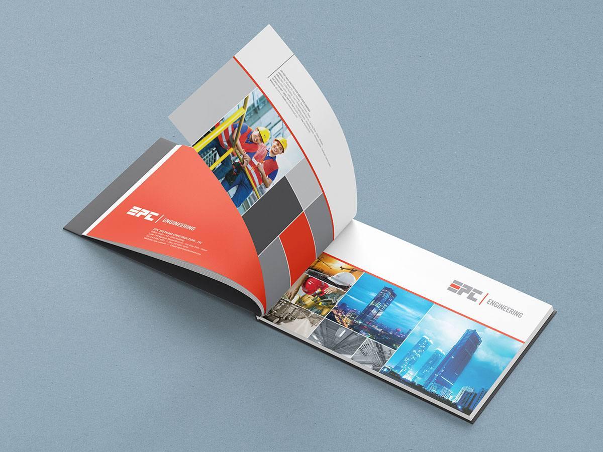 thiết kế bộ nhận diện thương hiệu EPC