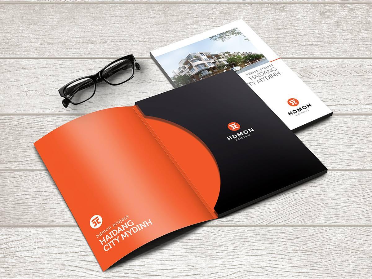 thiết kế bộ nhận diện thương hiệu HDMon Holdings