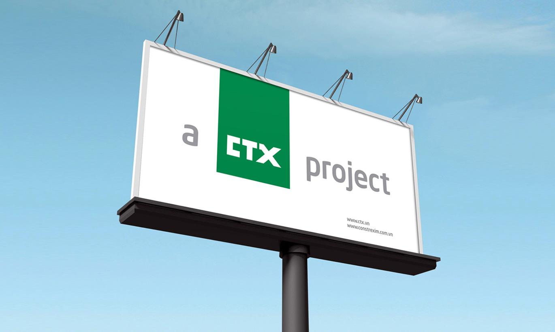 thiết kế Logo nhận diện thương hiệu CTX Holdings 4