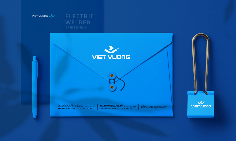 thiết kế Logo và bộ nhận diện thương hiệu Việt Vương 4
