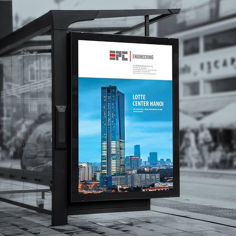 ứng dụng nhận diện thương hiệu EPC
