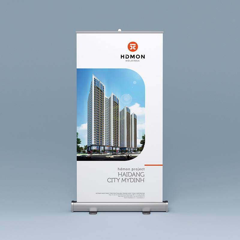 ứng dụng thiết kế bộ nhận diện thương hiệu HDMON Holdings 1