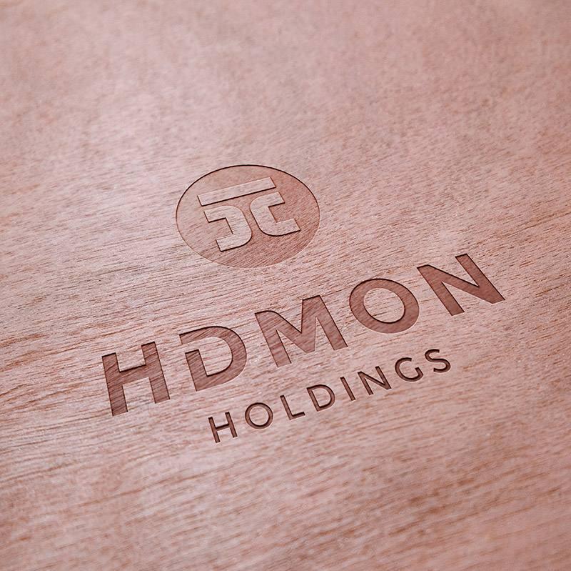 ứng dụng thiết kế bộ nhận diện thương hiệu HDMON Holdings 2