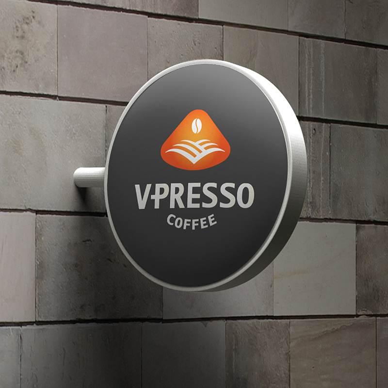 ứng dụng thương hiệu V Presso