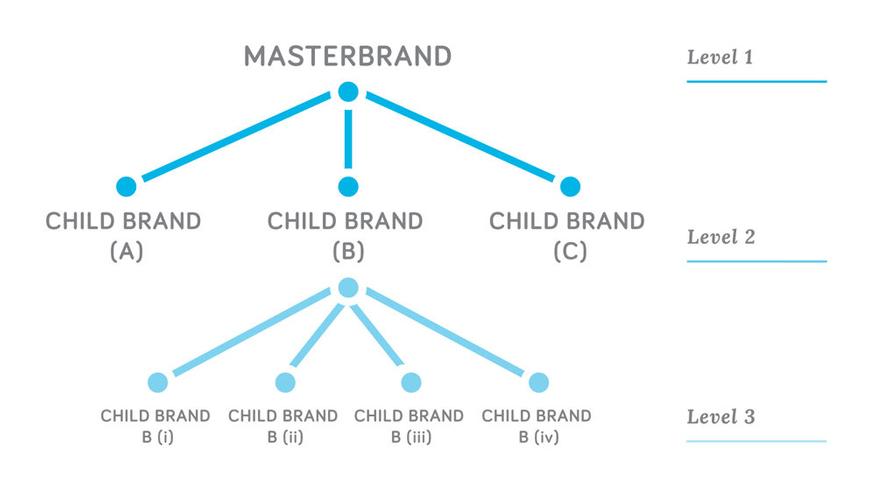6 bước xây dựng cấu trúc thương hiệu