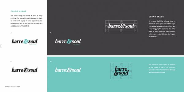 cẩm nang thương hiệu Barre Soul 2
