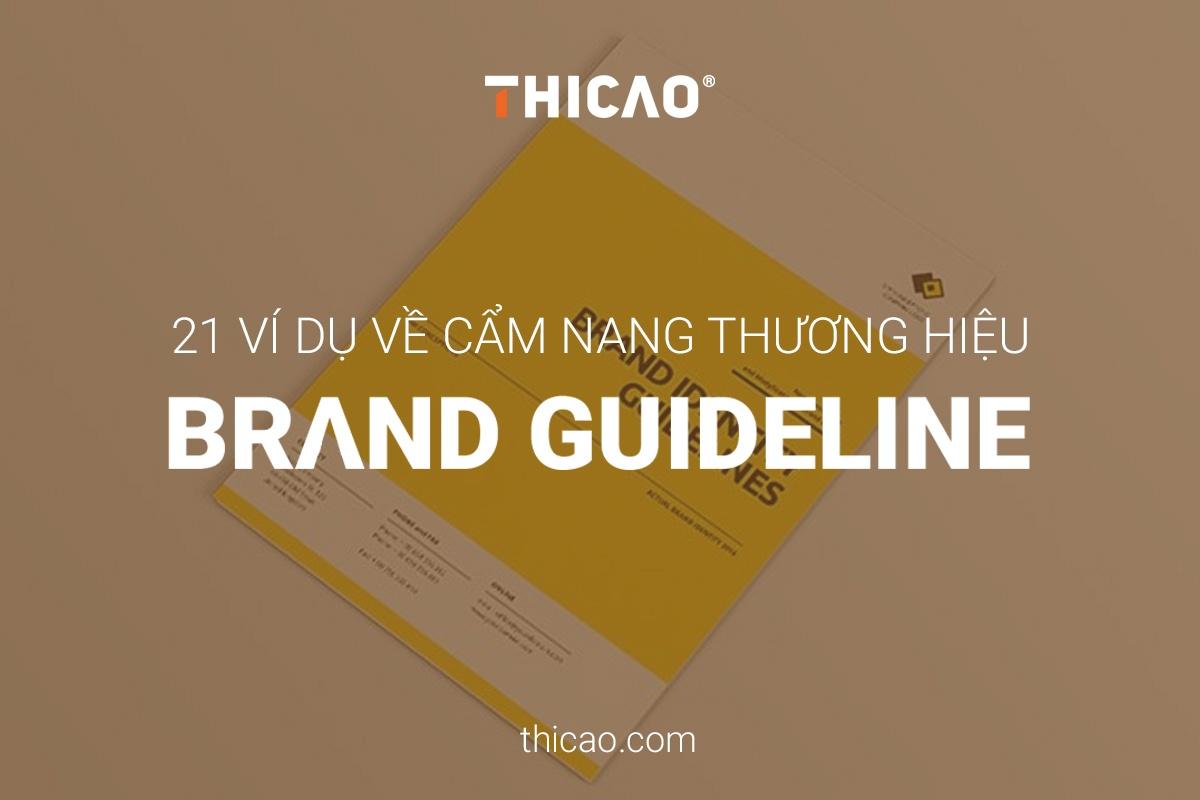 cẩm nang thương hiệu brand guideline