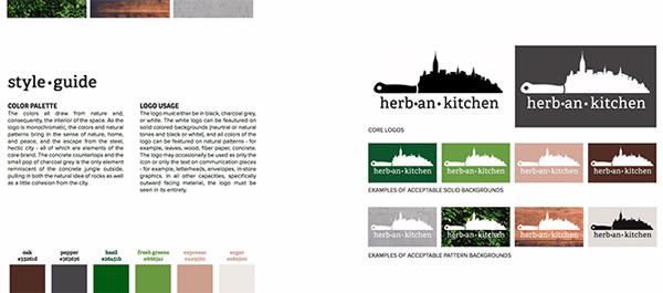 cẩm nang thương hiệu Herban kitchen 1