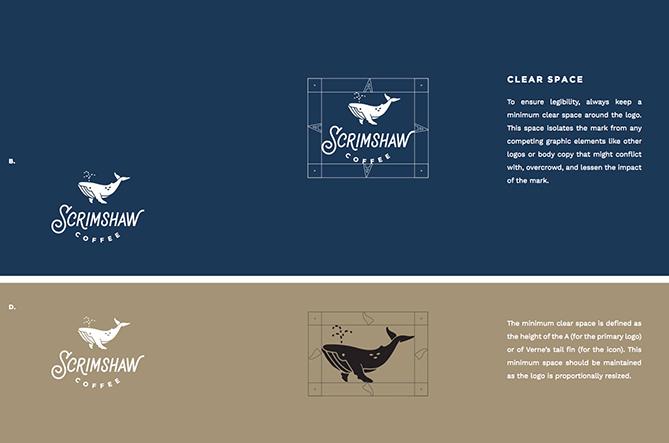 cẩm nang thương hiệu Scrimshaw Coffee 2