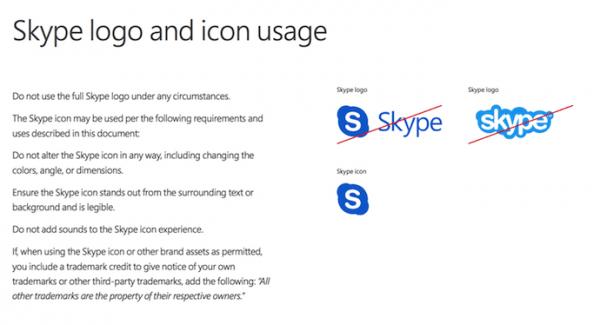 cẩm nang thương hiệu Skype
