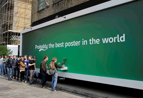 chiến dịch brand activation của Carlsberg