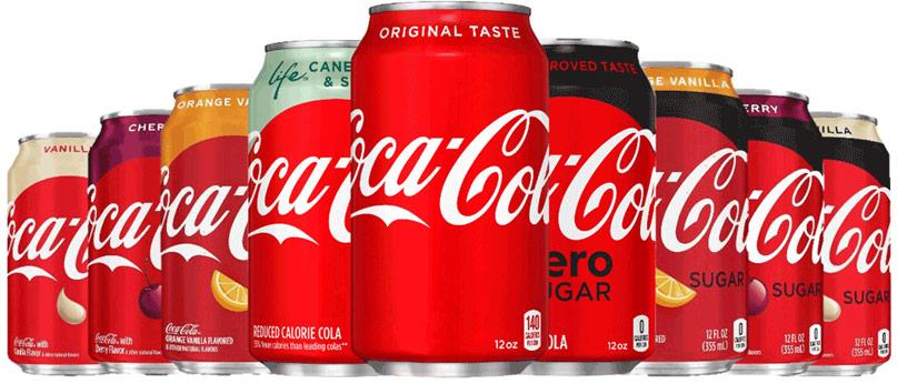 Coca Cola thiết kế bao bì mới