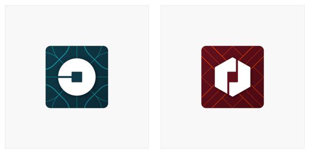 logo cũ của uber