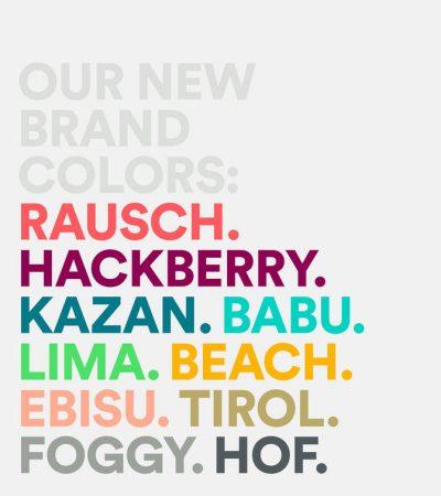 màu sắc mới của Airbnb