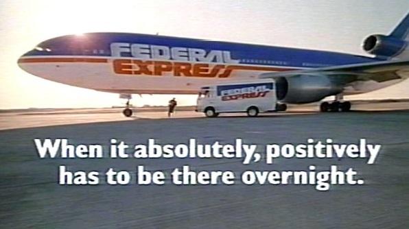 slogan của FedEx