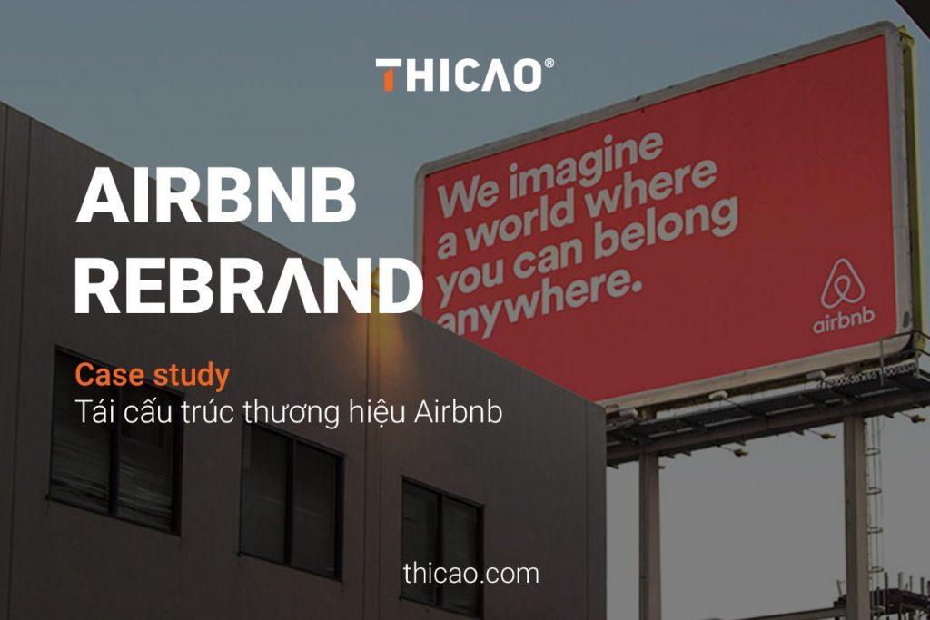 Tái cấu trúc thương hiệu Airbnb Rebrand