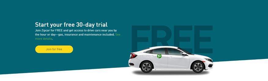 tuyên ngôn định vị của Zipcar
