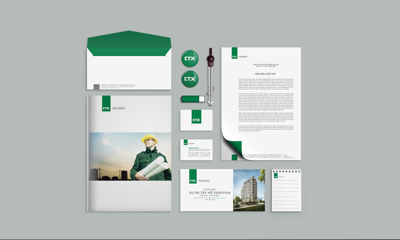 nhận diện thương hiệu CTX Holdings 3