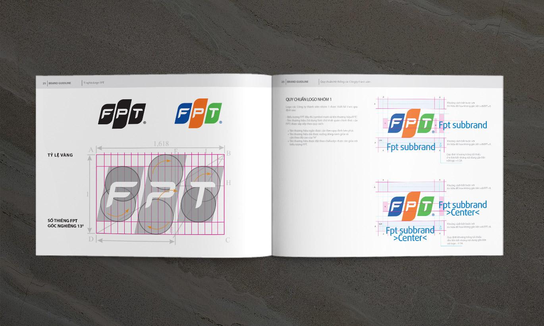 quy chuẩn Logo FPT