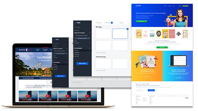 thiết kế tương tác trực tuyến