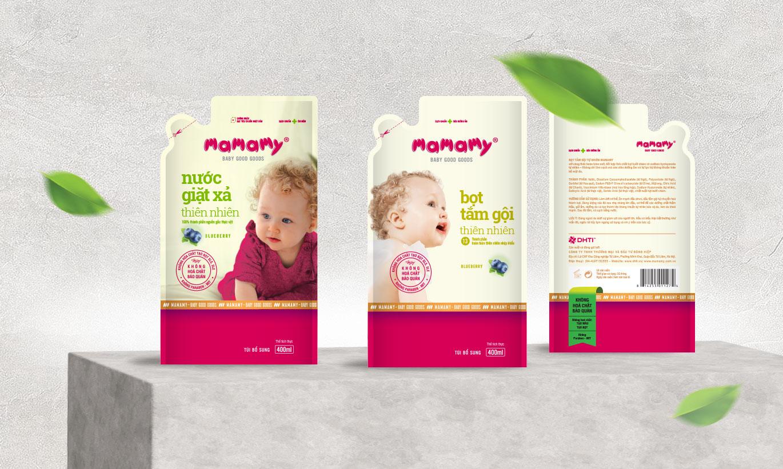thiết kế bao bì Mamamy 5