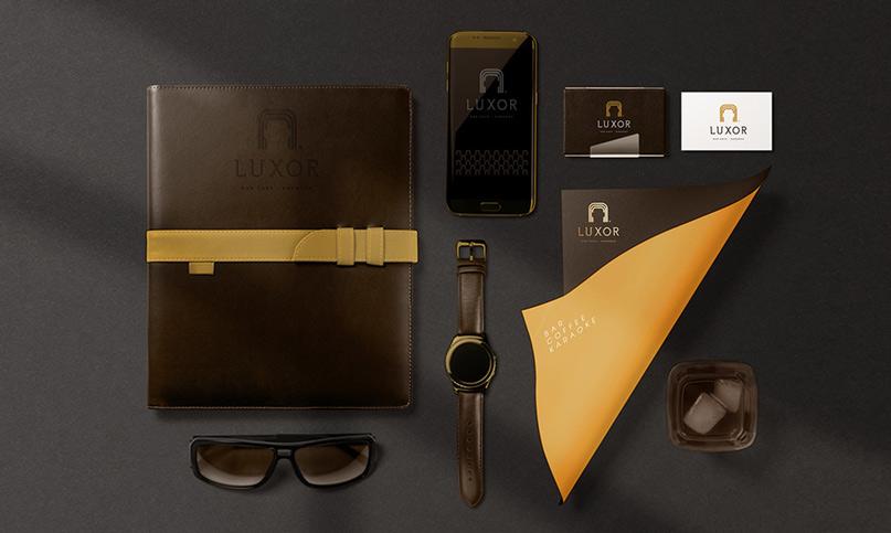 Brand Identity Luxor