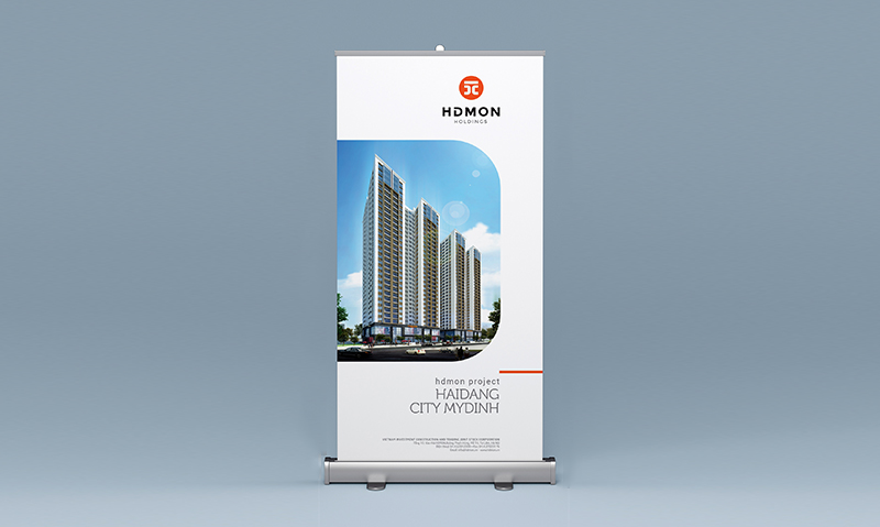 dịch vụ thiết kế Standee
