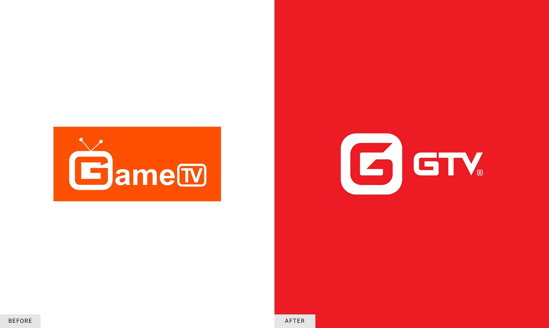 Logo GTV trước và sau