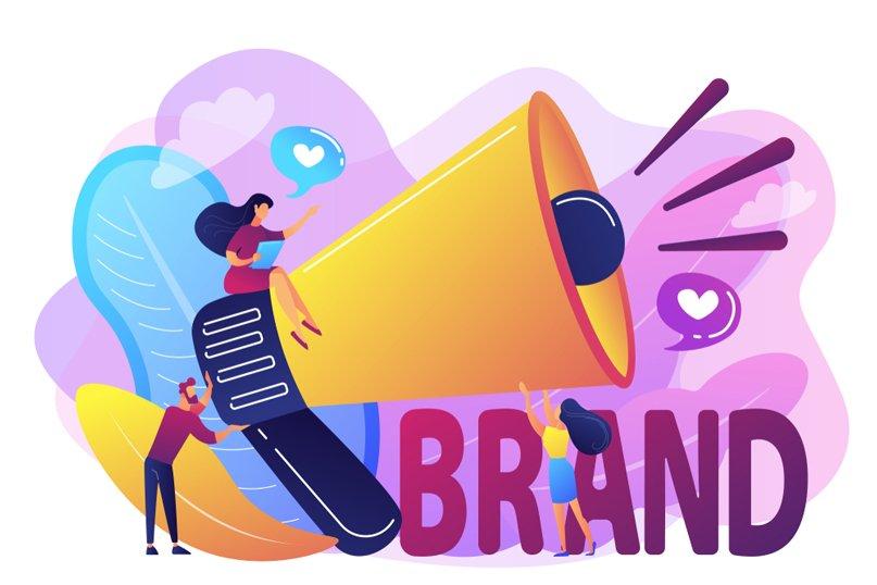 nhận diện thương hiệu xây dựng giá trị thương hiệu