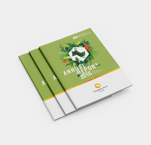quy trình thiết kế báo cáo thường niên