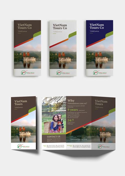 quy trình thiết kế Brochure