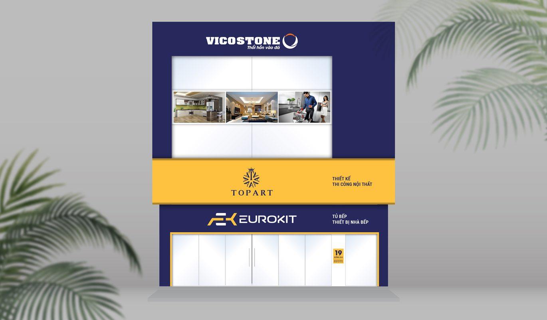 thiết kế biển cửa hàng nội thất Eurokit