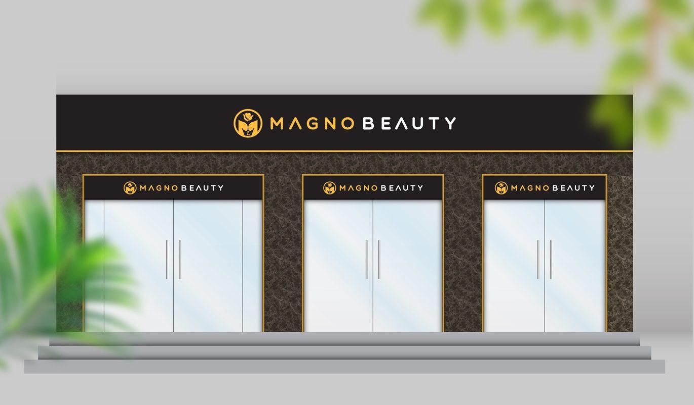 thiết kế biển Spa Magno Beauty