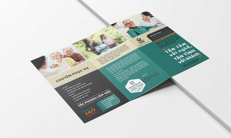 thiết kế Brochure công ty An Lạc 2