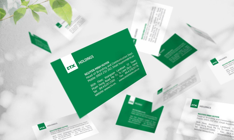 thiết kế Card Visit CTX Holdings 1
