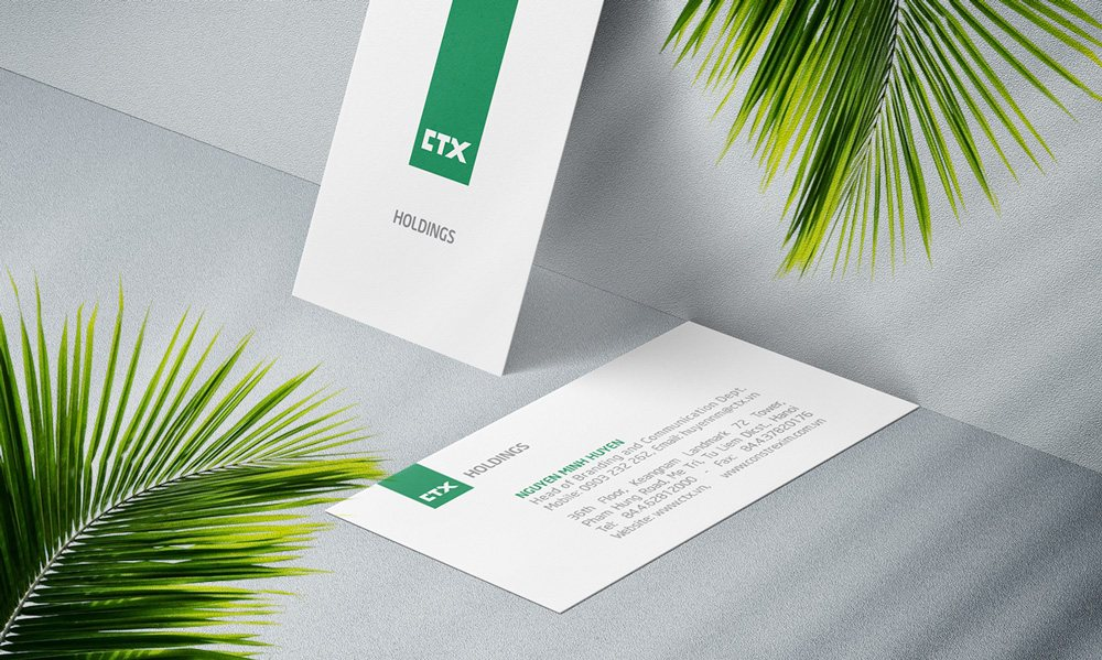 thiết kế Card Visit CTX Holdings 3