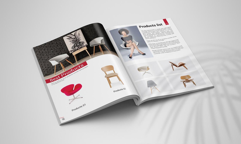 thiết kế Catalogue nội thất Soul Living 2