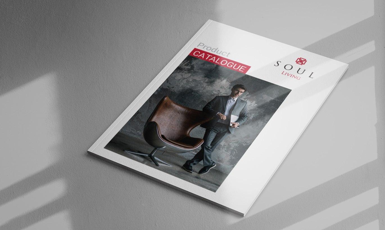 thiết kế Catalogue nội thất Soul Living 3
