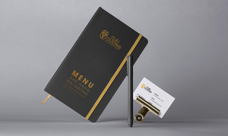 thiết kế Menu nhà hàng Đại Dương 3
