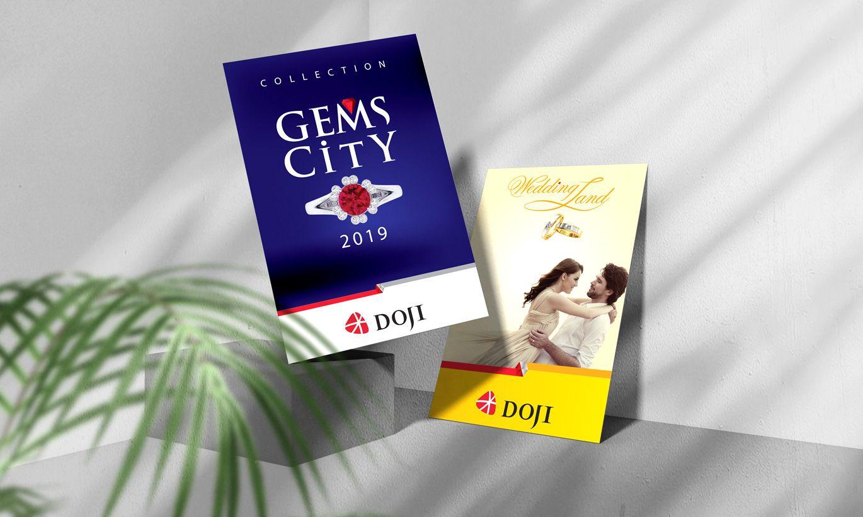 thiết kế Poster thương hiệu Doji 1