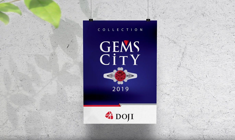 thiết kế Poster thương hiệu Doji 3