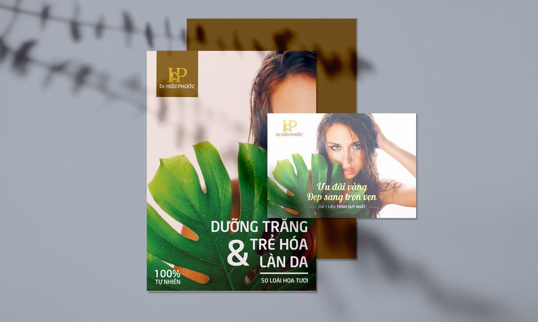 thiết kế tờ rơi Dr Hữu Phước 1